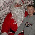 Mr J with Santa