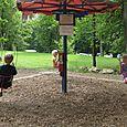 Swinging round